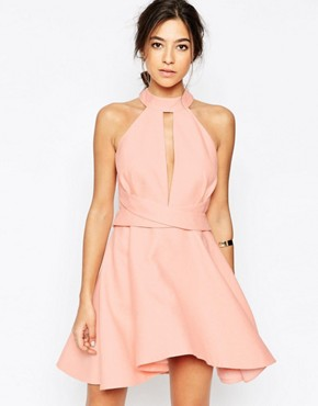 photo I'm New Here Dress in Pink by C/meo Collective, color Pink - Image 1