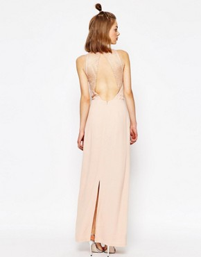photo Willow Maxi Dress with Lace Inserts by Samsoe & Samsoe, color Cameo Rose - Image 2