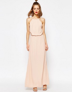 photo Willow Maxi Dress with Lace Inserts by Samsoe & Samsoe, color Cameo Rose - Image 1