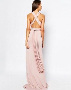 photo Multiway Maxi Dress by TFNC Tall WEDDING, color Mauve - Image 2