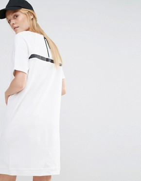 photo Premium Sweat Dress by Nike, color /White/White/(Black) - Image 2