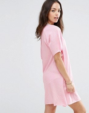 photo Pima Mini Dress by Pitusa, color Pink - Image 2