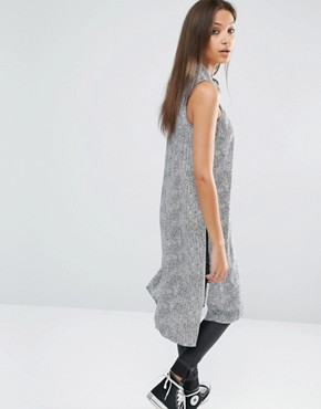 photo Button Through Shirt Dress by Noisy May Tall, color Multi - Image 2
