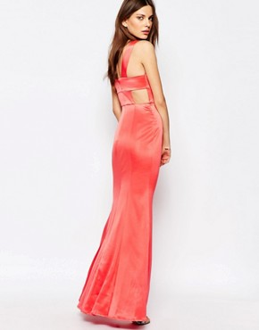 photo Maxi Dress with Back Detail in Pink by BCBGeneration, color Pink - Image 1