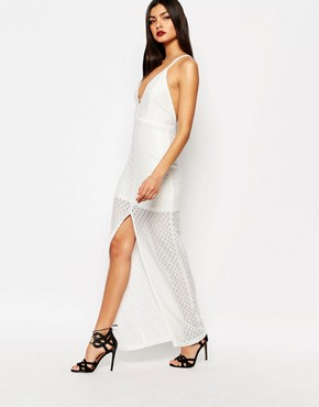 photo Nazar Maxi Dress in Ivory by Bec & Bridge, color Ivory - Image 1