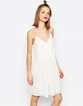 photo Haupt Full Summer Dress by Samsoe & Samsoe, color Clear Cream - Image 1