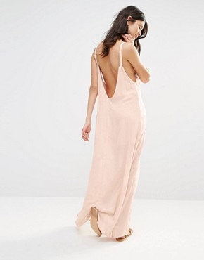 photo Embroidered Arrow Maxi Dress by Flynn Skye, color Blush Cluster - Image 2
