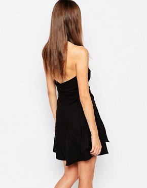 photo Exclusive Lay It Down Dress in Black by Finders Keepers, color Black - Image 2
