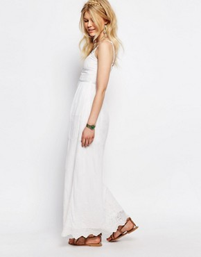 photo All Over Lace Maxi Dress by White Cove Petite, color White - Image 2