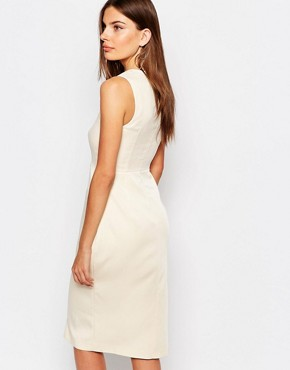 photo Exclusive Belfast Dress by Finders Keepers, color Cream - Image 2