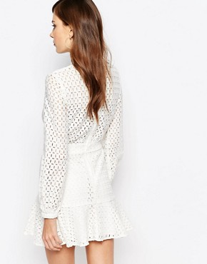 photo Peacemaker Dress by Finders Keepers, color White - Image 2