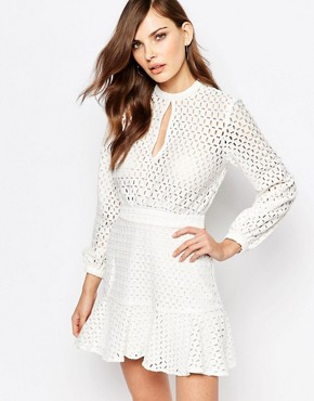 photo Peacemaker Dress by Finders Keepers, color White - Image 1
