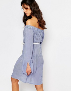 photo Nuami Striped Dress by Faithfull The Brand, color Rider Stripes - Image 2