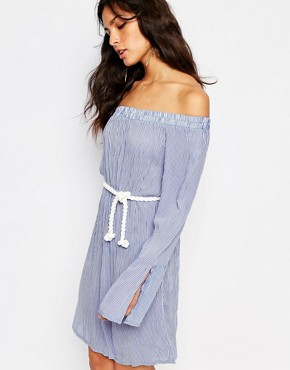 photo Nuami Striped Dress by Faithfull The Brand, color Rider Stripes - Image 1