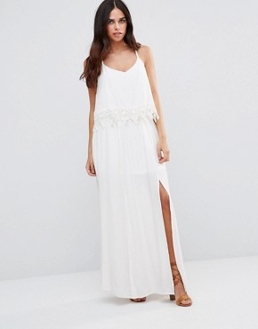 photo Lace Halter Dress by JAPONICA, color White - Image 1