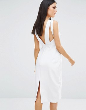 photo Parallel Dress by Stylestalker, color White - Image 2