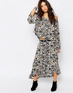 photo Californian Lover Maxi Dress by One Teaspoon, color Multi - Image 1