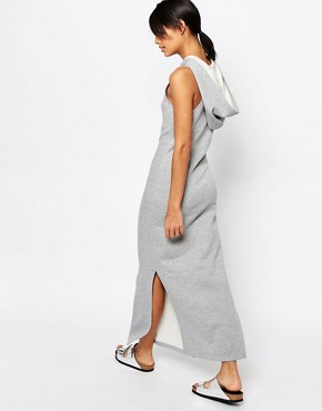 photo Maxi Dress with Hood by Nocozo, color Grey - Image 2