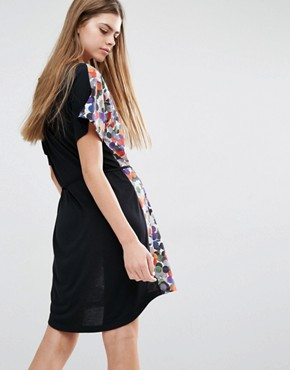 photo Multi Spot Paul's T-Shirt Dress by PS by Paul Smith, color Multi - Image 2