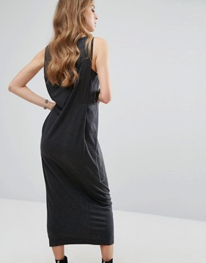 photo Be Raw Jersey Tank Dress by G-Star, color Black - Image 2