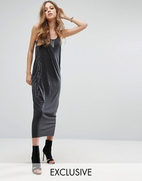 photo Be Raw Jersey Tank Dress by G-Star, color Black - Image 1