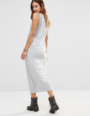 photo Be Raw Jersey Tank Dress by G-Star, color Grey - Image 2