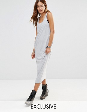 photo Be Raw Jersey Tank Dress by G-Star, color Grey - Image 1