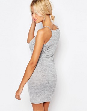 photo Cami Mini Dress with Spaced Out Print by Kiss & Tell, color Grey - Image 2