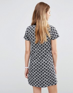 photo Icon Mini Dress by Stussy, color Black - Image 2