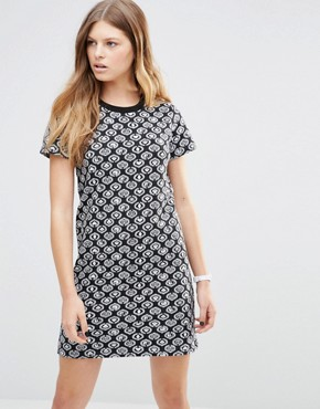 photo Icon Mini Dress by Stussy, color Black - Image 1