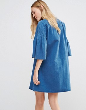 photo Jeans George Dress by MiH Jeans, color Indigo - Image 2