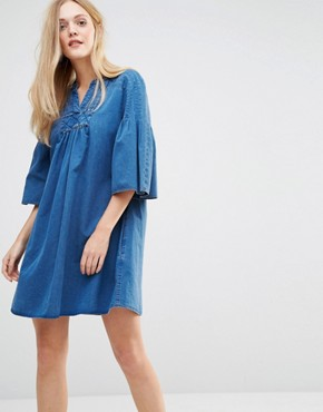 photo Jeans George Dress by MiH Jeans, color Indigo - Image 1