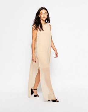 photo Gine Maxi Dress by Minimum, color Dusty Sand - Image 1