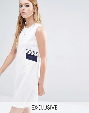 photo Archive Trico Dress by Fred Perry, color White - Image 1