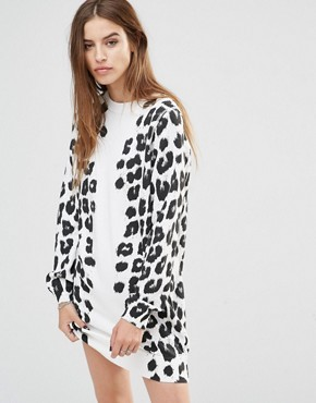 photo Leopard Print Dress by Diesel, color White - Image 1