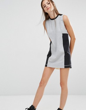 photo Classics Panel Dress by Reebok, color Grey - Image 1