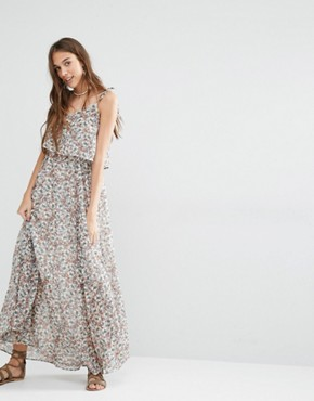 photo Ditsy Floral Maxi Dress by Pimkie, color Multi - Image 1