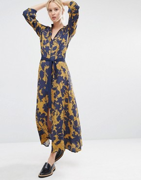 photo Audra Maxi Dress in Floral Print by Gestuz, color Multi - Image 1