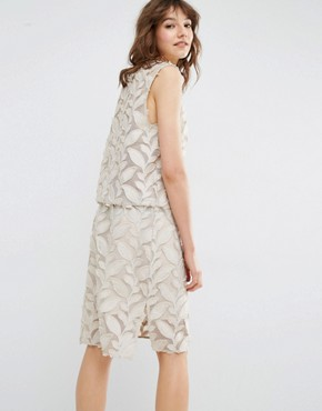 photo Mayer Applique Dress by Samsoe & Samsoe, color Beige - Image 2