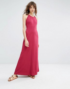 photo Cerena Maxi Dress by Samsoe & Samsoe, color Red - Image 2
