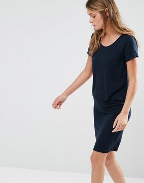 photo Double Layer Dress by JDY, color Navy - Image 1