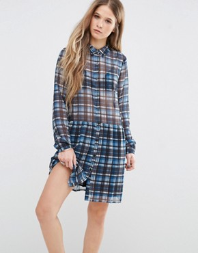 photo Claire Check Dress by Pepe Jeans, color Multi - Image 1