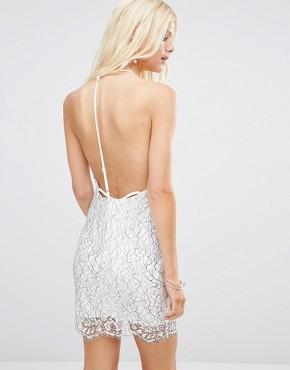 photo Midnight Lace Slip Dress by WYLDR, color Multi - Image 2