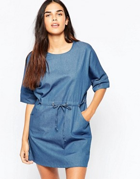 photo Symetry Denim Dress by Goldie, color Blue - Image 1