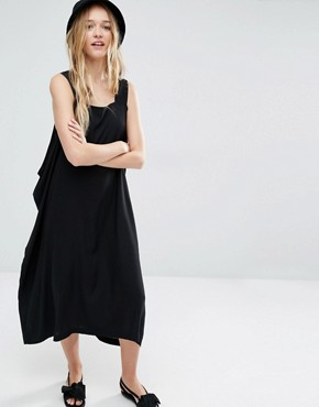 photo Open Side Dress by Weekday, color Black - Image 1