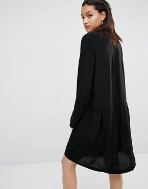 photo Laura Smock Dress by Just Female, color Black - Image 2