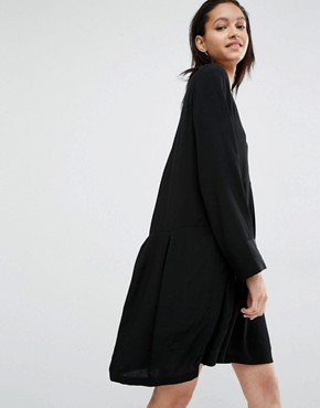 photo Laura Smock Dress by Just Female, color Black - Image 1
