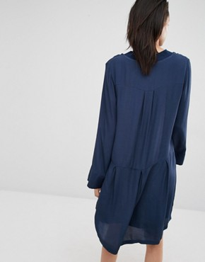 photo Laura Smock Dress by Just Female, color Blue - Image 2