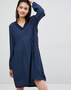 photo Laura Smock Dress by Just Female, color Blue - Image 1