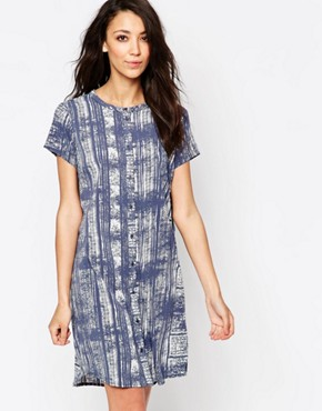 photo Printed Shirt Dress by JDY, color  - Image 1